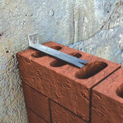 XPA Corner Wall Ties - Frame Cramps (Fishtail)