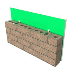 Expamet Xpa Corrugated corner wall tie