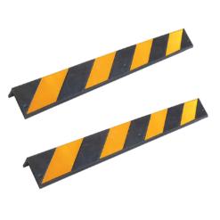 Expamet Rubber corner guard yellow reflector