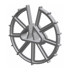 Minifix Wheel spacer 40