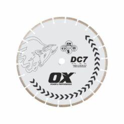 OX Standard DC7- Concrete General Purpose Segmented Diamond Blade
