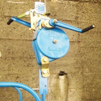 ALBA Manual Winch for Scaffolding