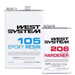 WEST SYSTEM Epoxy Resin 105/206