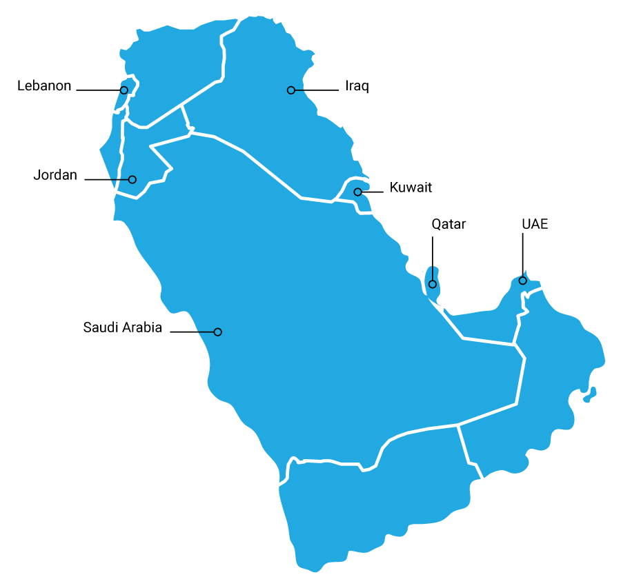 Bardawil - About us - Map